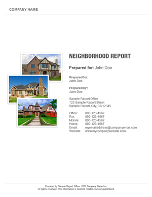 Central Ohio Neighborhood Report